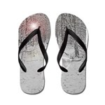 The Snow Queen Flip Flops