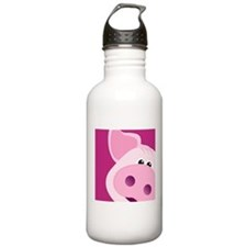 Happy Piggy Water Bottle