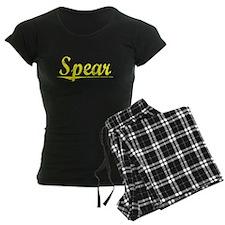 Spear, Yellow Pajamas