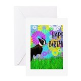 Unique Terrier birthday Greeting Card