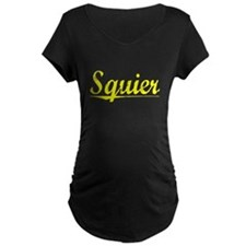Squier, Yellow T-Shirt