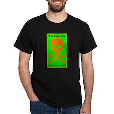 2006 Talk Like A Pirate Black T-Shirt