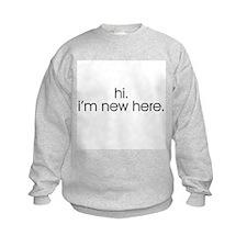 Hi. I'm new here. Sweatshirt