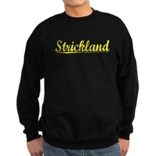 Strickland, Yellow Sweatshirt