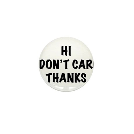 DontCare2.png Mini Button (100 pack)