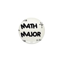 Math Major Mini Button (10 pack)