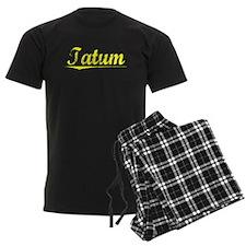 Tatum, Yellow Pajamas