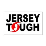Jersey Strong Car Magnet 20 x 12
