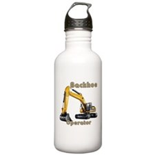 Backhoe Water Bottle