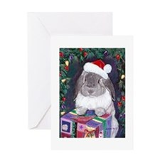 Rabbit christmas Greeting Card