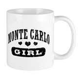 Monte Carlo Girl Small Mug