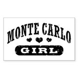 Monte Carlo Girl Decal