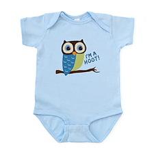 Owl Art I'm A Hoot Infant Bodysuit