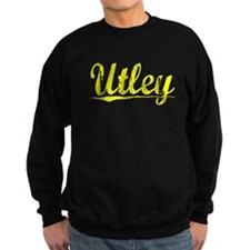 Utley, Yellow Sweatshirt