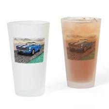 The Classic 1969' Camaro SS 396' Drinking Glass
