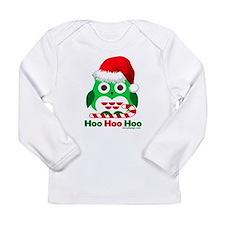 Christmas Owl Hoo Hoo Hoo Long Sleeve Infant T-Shi