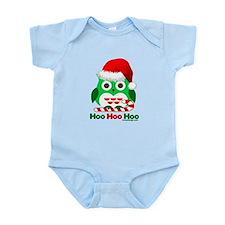 Christmas Owl Hoo Hoo Hoo Infant Bodysuit