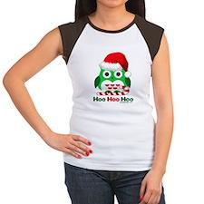 Christmas Owl Hoo Hoo Hoo Tee