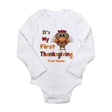 First Thanksgiving Personalized Baby Outfits