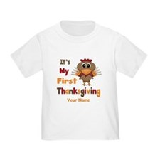 First Thanksgiving Personalized T