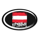 Kitzbühel Grunge Flag Decal