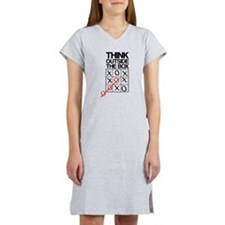 Think outside the box Women's Nightshirt