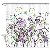 CorrectPropRoses1b15 Shower Curtain