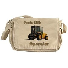 The Fork Lift Messenger Bag