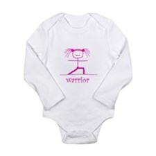 Cool Muscle women Long Sleeve Infant Bodysuit