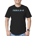 Nebula-9 Men's Fitted T-Shirt (dark)