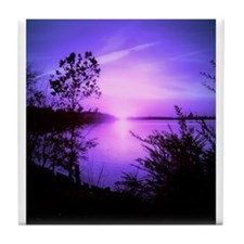 Purple Set Tile Coaster