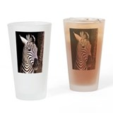 ZEBRA Drinking Glass