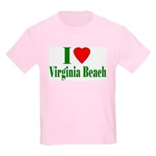 I Love Virginia Beach Kids T-Shirt