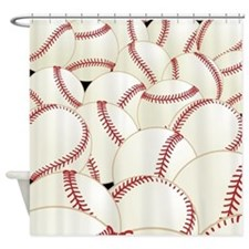Baseball Shower Curtain
