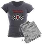 whitetail caution Womens Burnout Tee