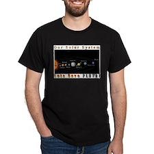Our Solar System - Lets Save Black T-Shirt