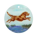 Chesapeake Bay Retriever Ornament (Round)