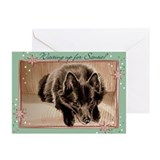Schipperke Christmas Cards (Pk of 10)