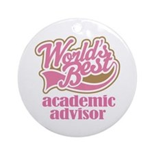 Advertising Advisor (Worlds Best) Ornament (Round)