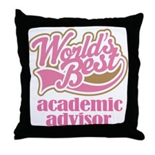 Advertising Advisor (Worlds Best) Throw Pillow