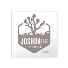 "Joshua Tree Square Sticker 3"" x 3"""