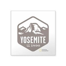 "Yosemite Square Sticker 3"" x 3"""
