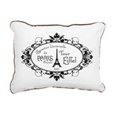 l'Exposition Universelle Rectangular Canvas Pillow