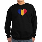 Moldova flag heart Sweater