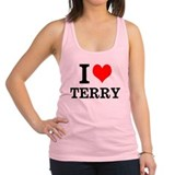 I Love Terry McDermott Racerback Tank Top