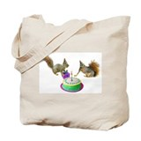 Squirrels Birthday Tote Bag