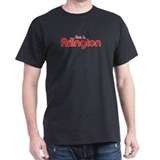 Born in Arlington Black T-Shirt