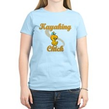 Kayaking Chick #2 T-Shirt
