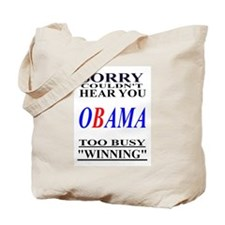 Obama Winning Tote Bag