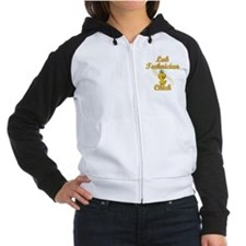 Lab Technician Chick #2 Women's Raglan Hoodie